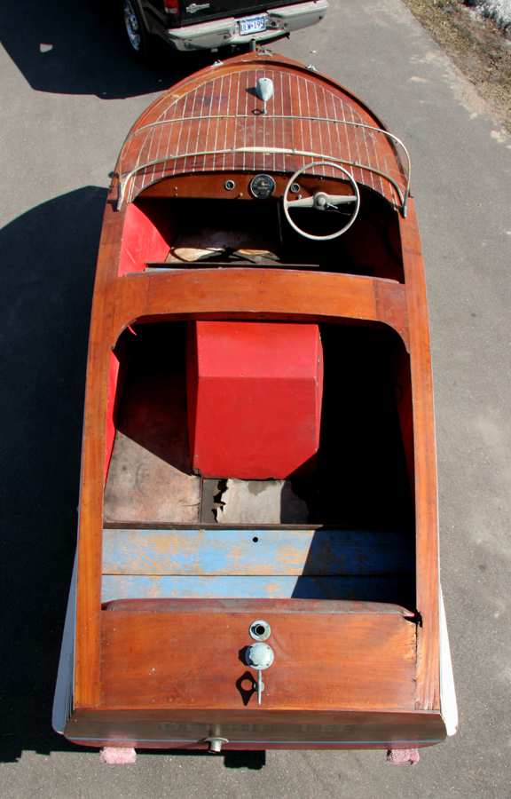 Cold Spring Mn >> 16' Playboy Wooden Boat