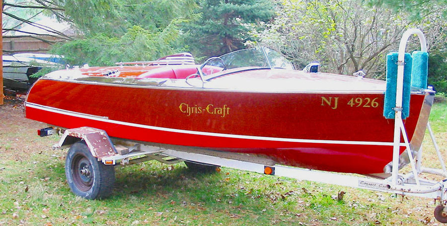 Classic boats for sale: 16 ft Special Race Boat 6g