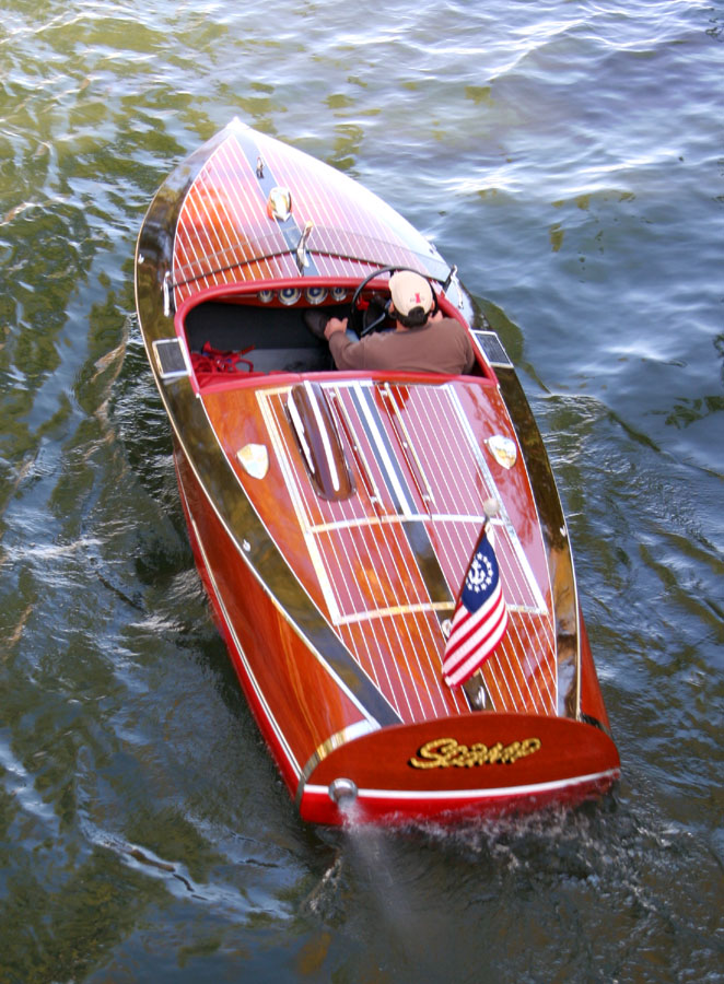 Chris Craft 1940 16' Special Race Boat Barrel Back for Sale