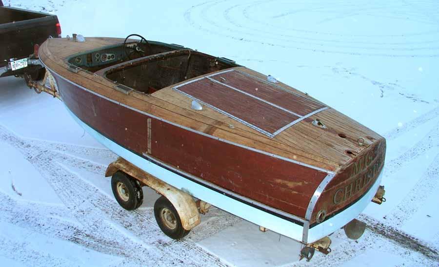 Chris craft 1940 1941 17 39 barrel back for sale 16 500 for 1940 chris craft barrel back for sale