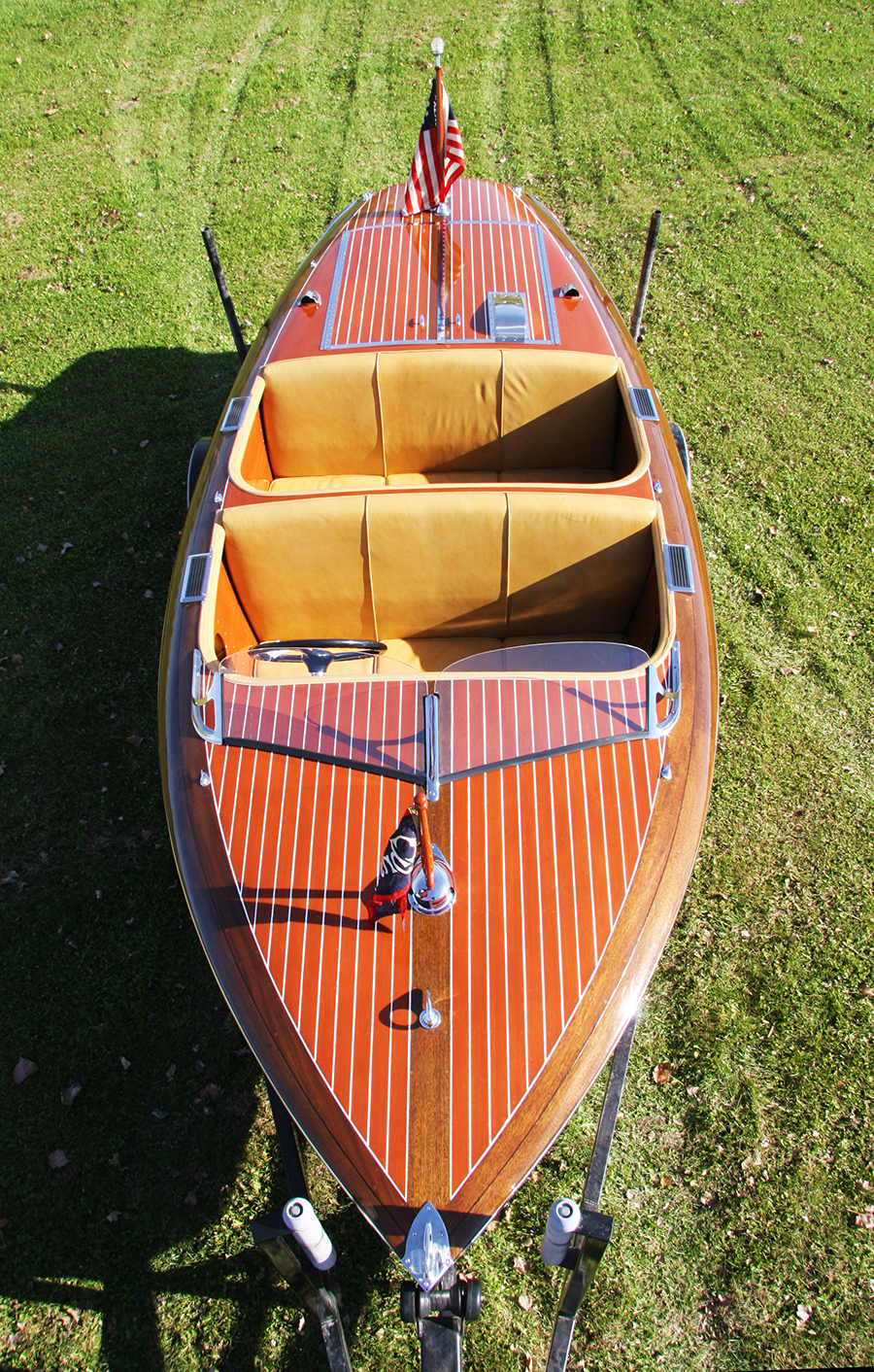 17' Chris Craft Barrel Back Runabout