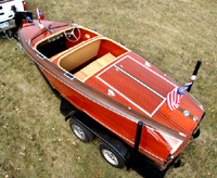 Chris Craft 17 ft Barrel Back