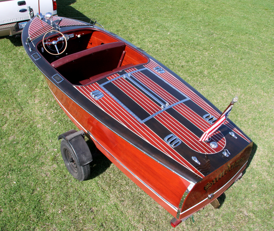 1947 Century Sea Maid Classic Wooden Boat