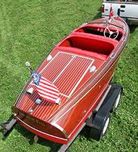 Chris Craft 17 ft Barrel Back 1941
