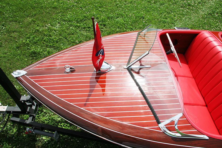 Chris Craft 17 Ft Barrel Back 1942 For Sale