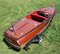 1947 17' Chris Craft Deluxt Runabout