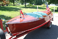 1938 17' Chris-Craft Deluxe Runabout