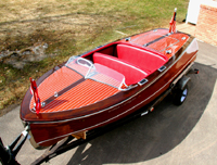 1947 Chris-Craft 17' Deluxe Runabout