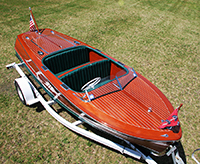 1947 17 ft Chris Craft Deluxe Runabout