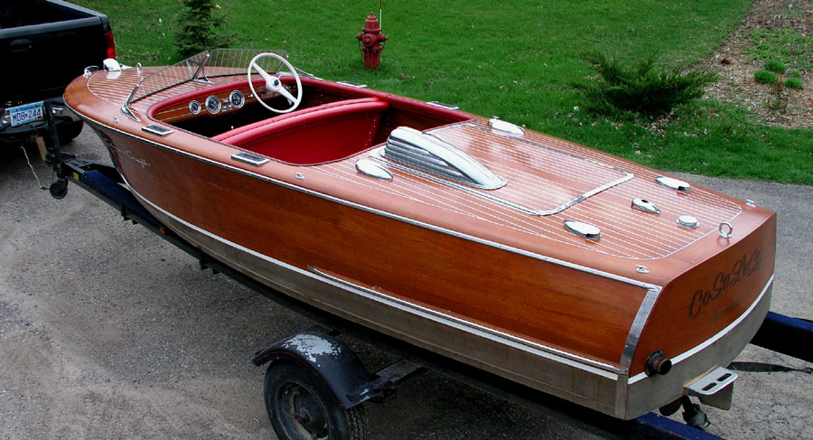 Chris Craft Mahogany Boats