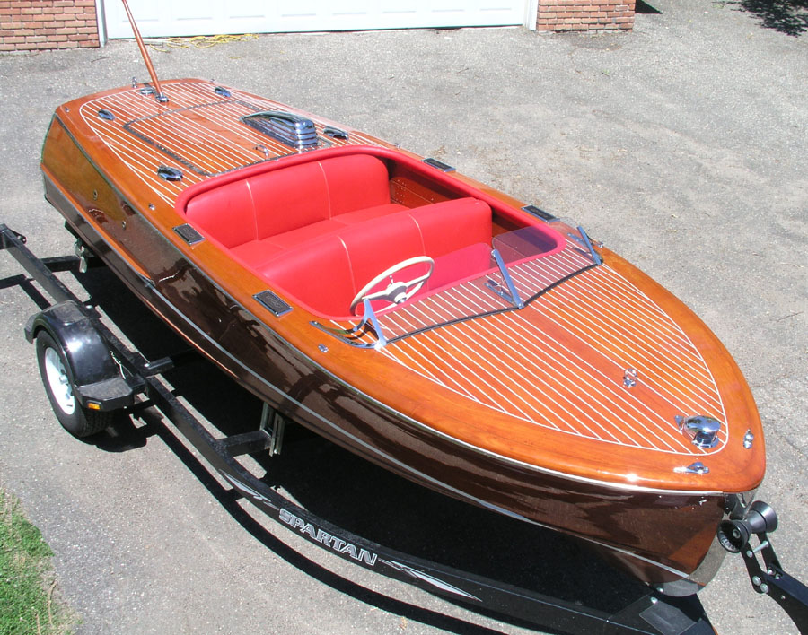 Classic Boats 1948 Chris Craft 17 Ft Deluxe Runabout