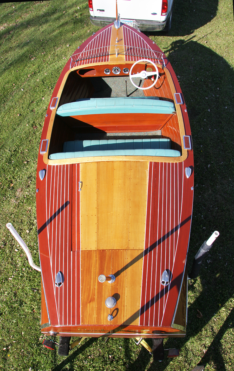 17' Chris Craft Deluxe Runabout Double Cockpit