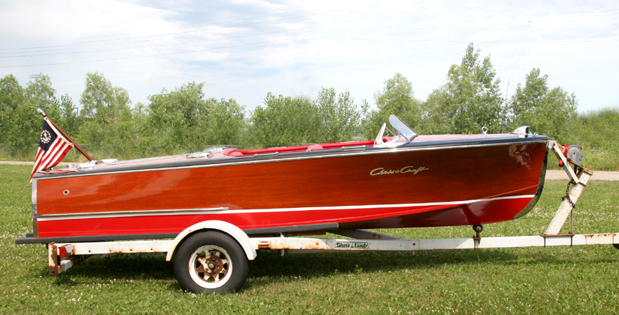 Chris Craft Boats >> Classic Boats - 1946 17' Chris-Craft Deluxe Runabout