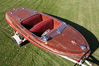 Chris Craft 17' Deluxe Runabout Project Boat