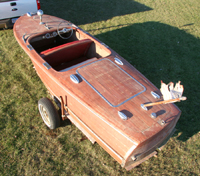 1947 17' Chris Craft Deluxe Runabout Project Boat $9,900.