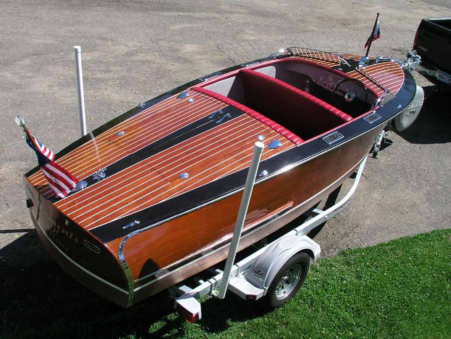 Chrysler For Sale >> 1946 17 1/2 ft GarWood Runabout