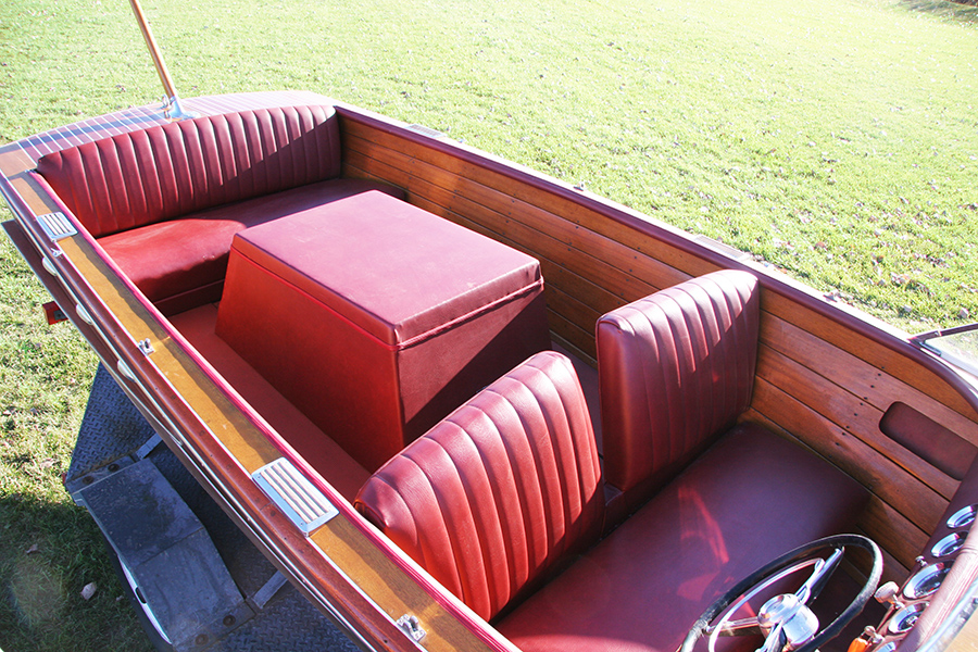 Chris Craft 18' Contintal upholstery