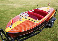 1950 18' Chris-Craft Riviera Classic Wooden Boat For Sale