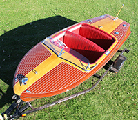 1950 18' Chris Craft Riviera classic runabout