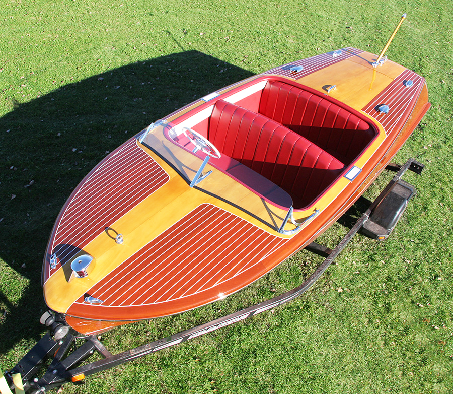 18' Chris Craft Riviera Runabout Classic Wooden Boat