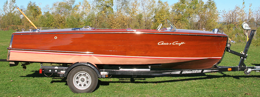 18' Chris Craft Riviera Classic Runabout