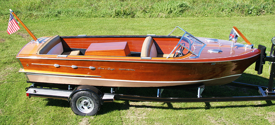 1955 18' Chris Craft Continental Classic Boat