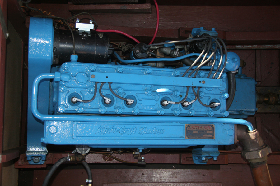 "Chris-Craft 95 hp ""K"" engine"
