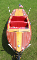 1950 18' Chrid Craft Riviera Runabout for sale