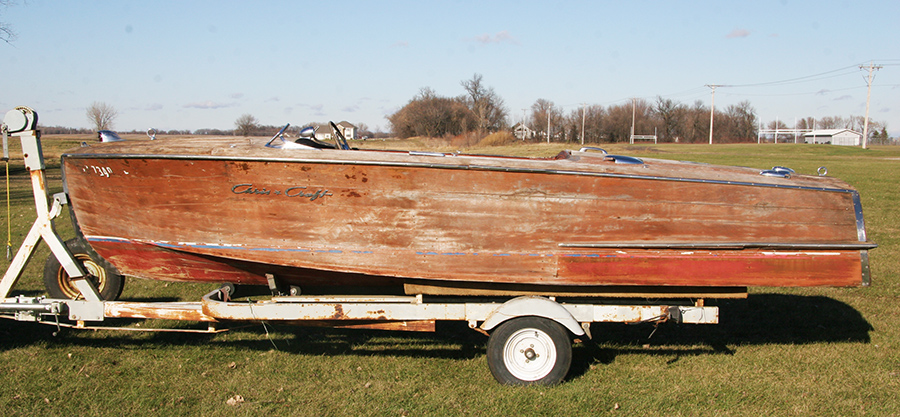 Chris Craft project boat