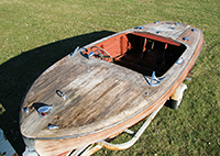 1950 18' Chris Craft Riviera Project Boat