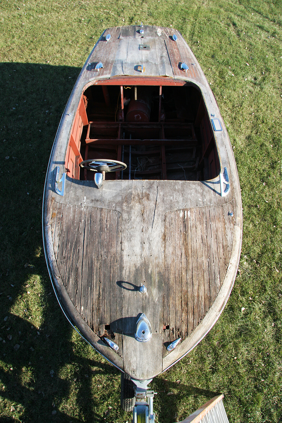 Chris Craft wooden project boat