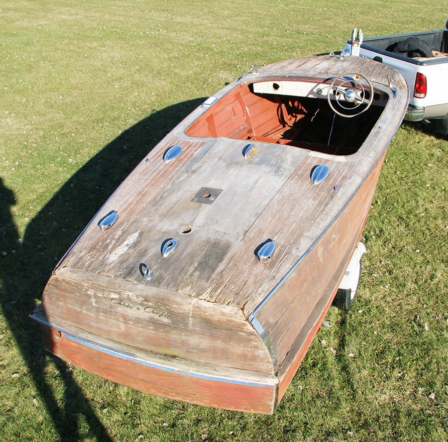 classic wooden project boat