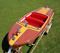 1950 18' Chris Craft Riviera Runabout boat for sale