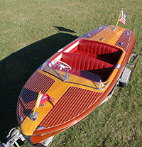 1954 18' Chris Craft Riviera Classic Boat for sale