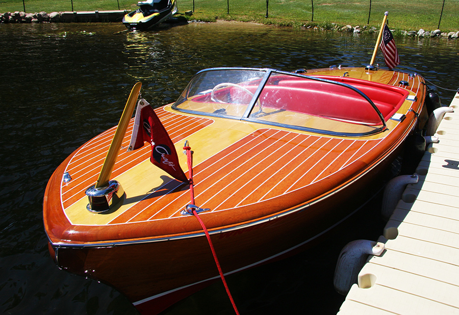 Chris Craft Boats >> Chris Craft 1956 19' Capri Classic Runabout For Sale