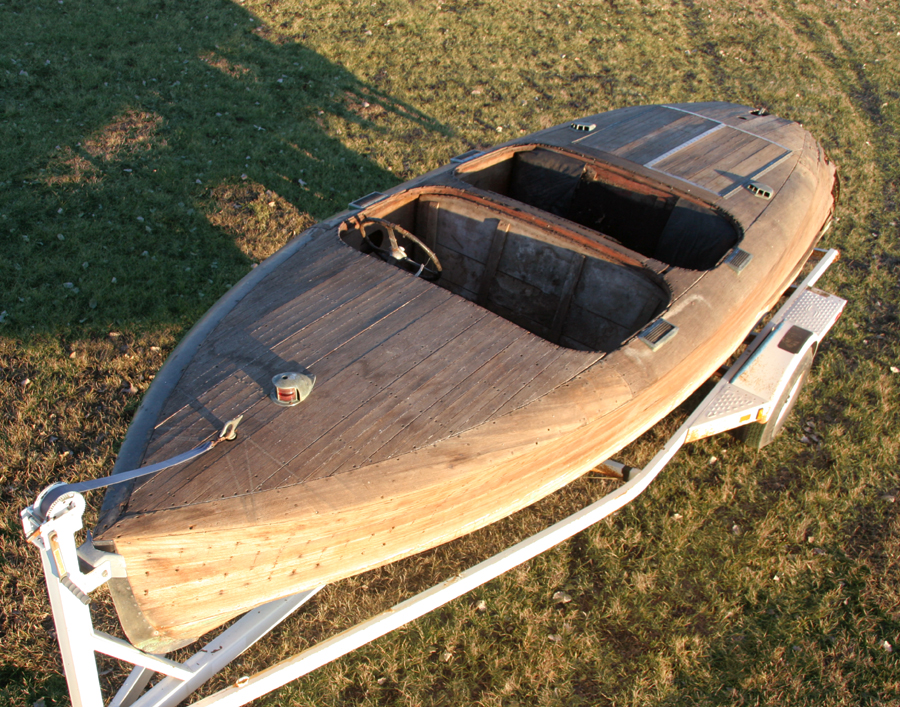 1938 19' Chris Craft Custom Runabout Project