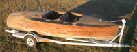 Classic Chris Craft 1939 19' Barrel Back Custom Runabout Project