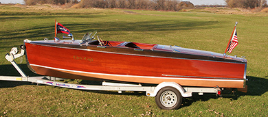 Chris Craft 19 ft Barrel Back For Sale