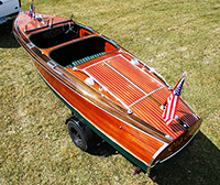 1939 19 ft Chris Craft Barrel Back