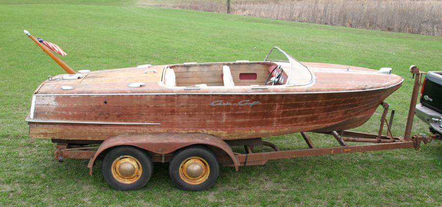 1957 19' Chris Craft Capri for sale with 283 V8