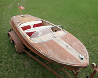 1957 19' Chris Craft Capri Project Boat