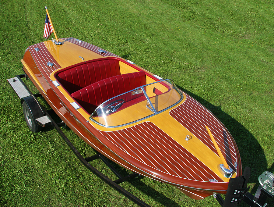 1957 19 ft Chris Craft Capri classic wooden runabout