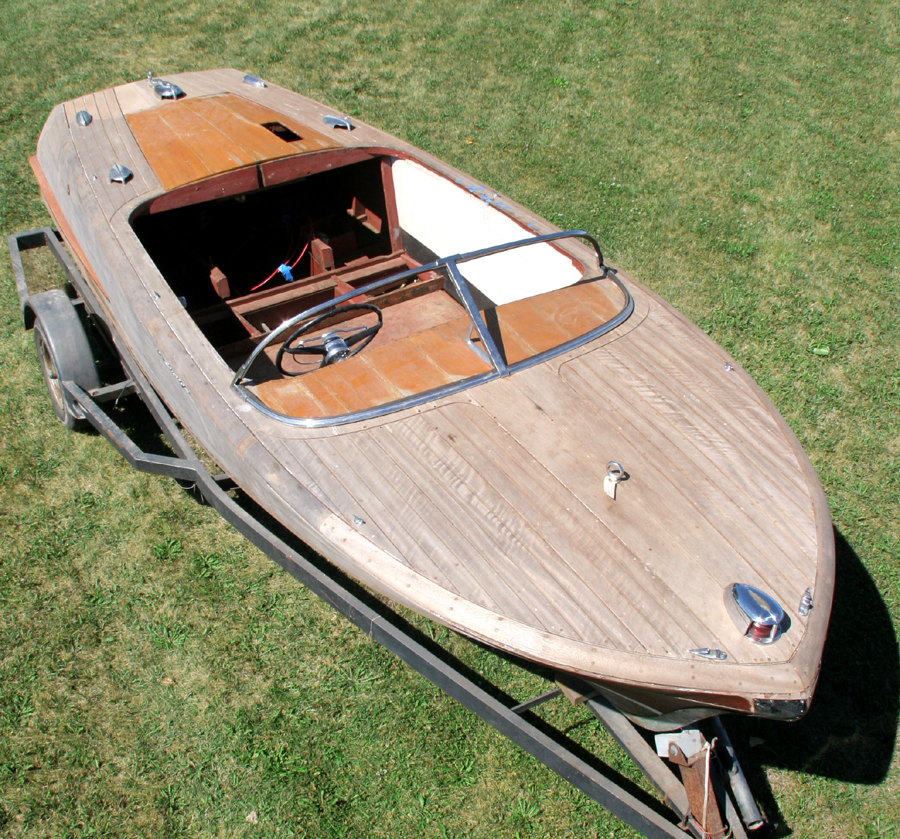 Chris Craft 19' Capri Project Boat