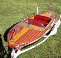 1956 19' Classic Chris Craft Capri