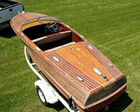 Classic Chris Craft Capri Project Boat