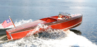 1940 19' Chris Craft Barrel Back Custom Runabout