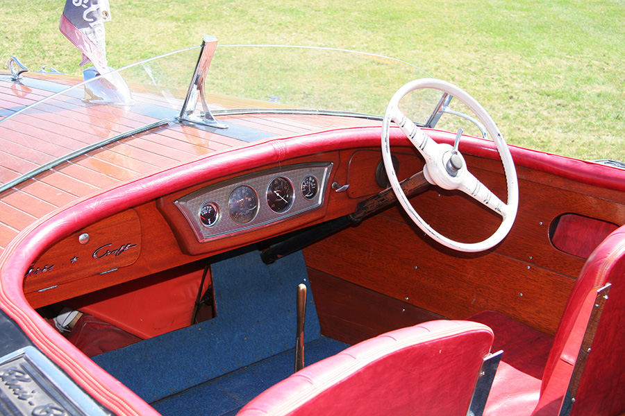 1936 Chris Craft Custom Runabout dash board