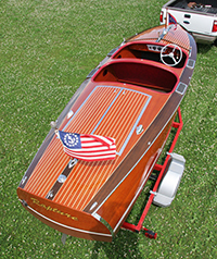 1937 19' Chris Craft Custom Runabout for sale