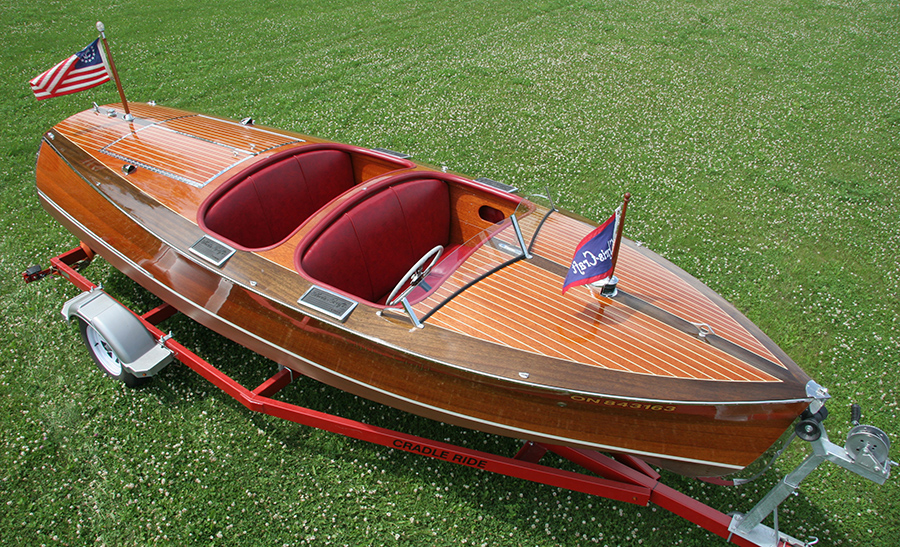 1937 19 ft Chris Craft Custom Runabout for sale
