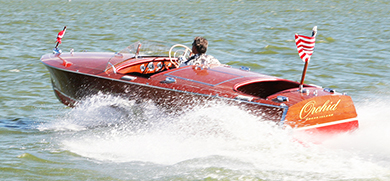 1954 19 ft Chris Craft Racing Runabout